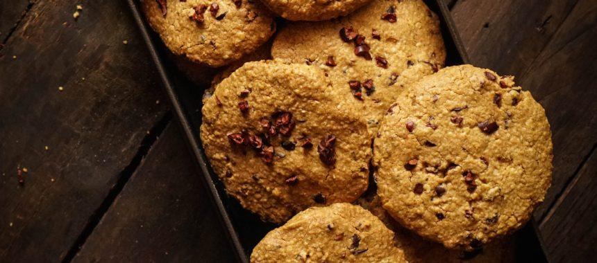 Pieguski – przepis na kruche ciastka czekoladowe