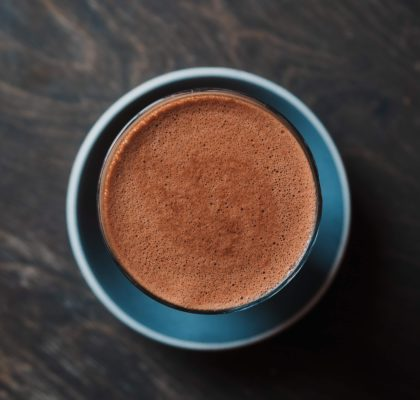 czekolada do picia z pomarańczową nutą