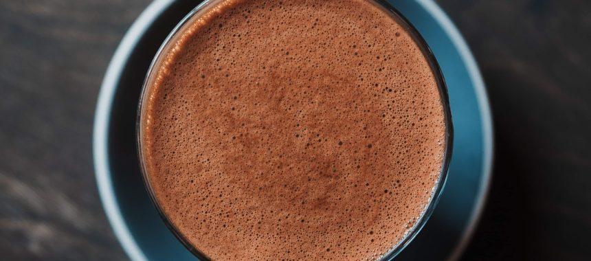 Gęsta czekolada do picia z pomarańczową nutą – przepis