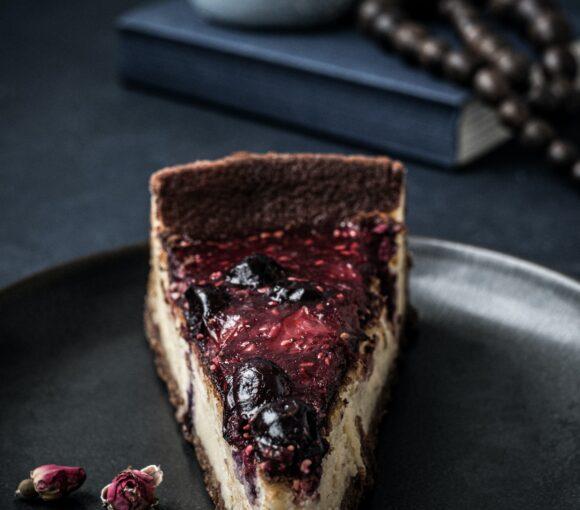 ciasto czekoladowe z serem