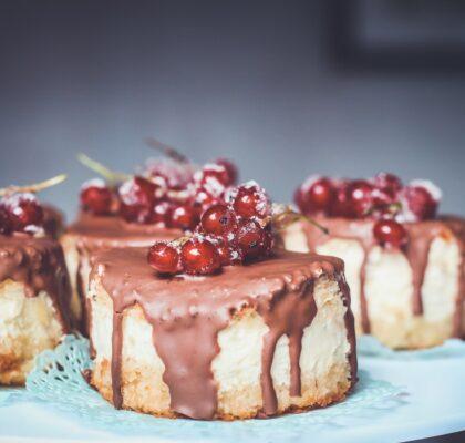 Ciasto wiśniowe czekoladowe