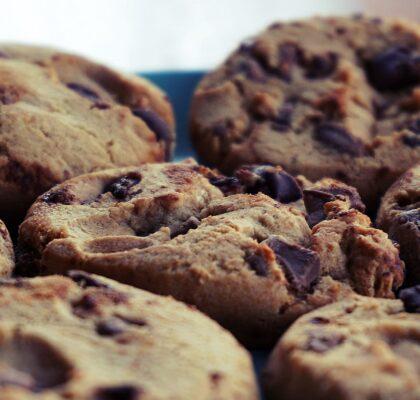 Ciasteczka czekoladowe z porzeczkami