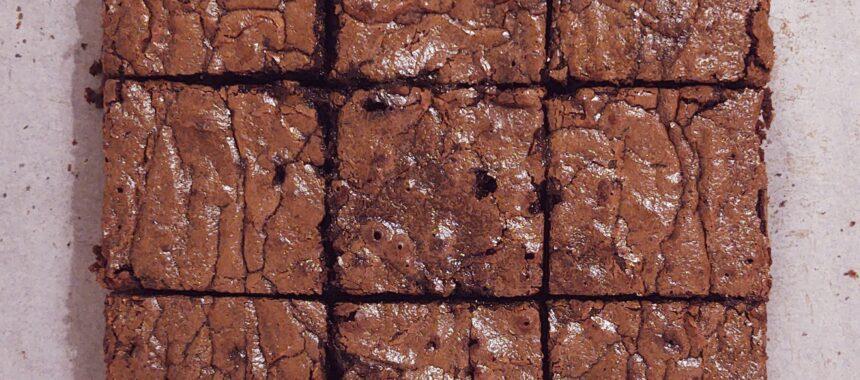 Brownie z dodatkiem agrestu